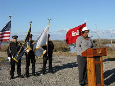Ground Breaking for Non-Federal Levee2