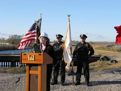 Ground Breaking for Non-Federal Levee4