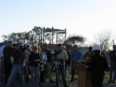 Ground Breaking for Non-Federal Levee5