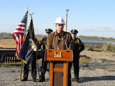 Ground Breaking for Non-Federal Levee7